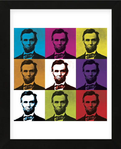 Abraham Lincoln (Framed) -  Celebrity Photography - McGaw Graphics