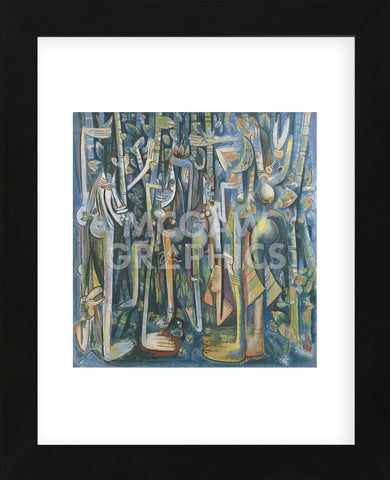 The Jungle, 1943  (Framed) -  Wifredo Lam - McGaw Graphics