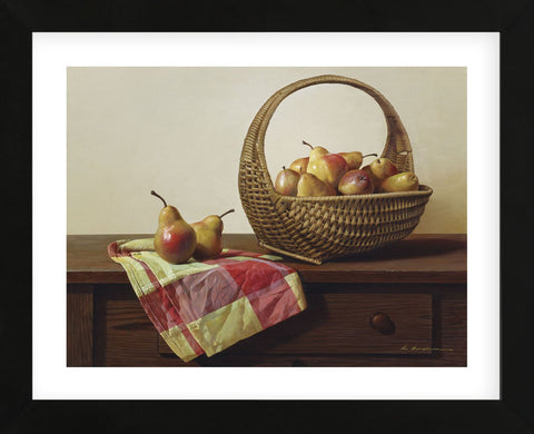Still Life with Pears (Framed) -  Zhen-Huan Lu - McGaw Graphics