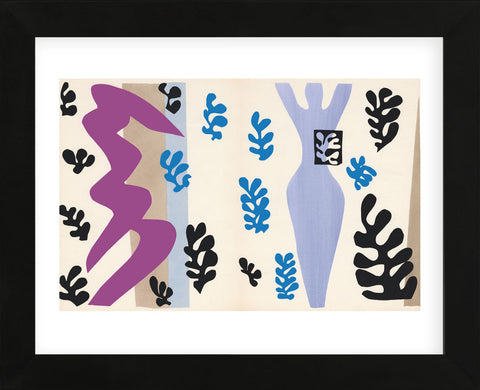 The Knifethrower (Framed) -  Henri Matisse - McGaw Graphics