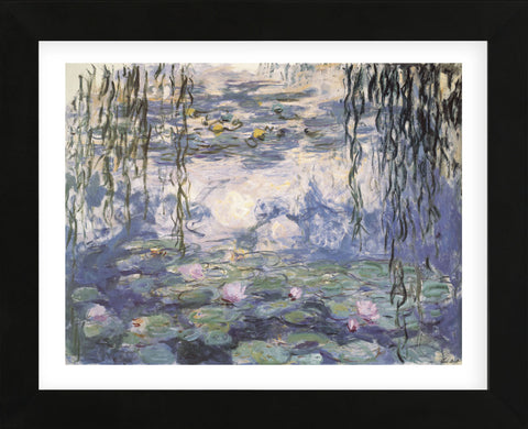 Claude Monet - Water Lilies and Willow Branches
