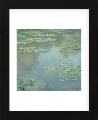 Water Lilies (II), 1907  (Framed) -  Claude Monet - McGaw Graphics