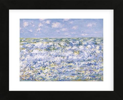 Claude Monet - Waves Breaking