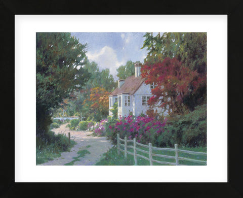 Country Lane (Framed) -  Allan Myndzak - McGaw Graphics
