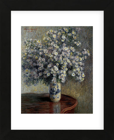 Asters, 1880  (Framed) -  Claude Monet - McGaw Graphics