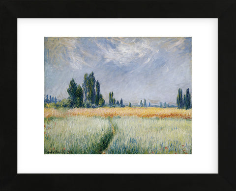 Wheatfield, 1881  (Framed) -  Claude Monet - McGaw Graphics