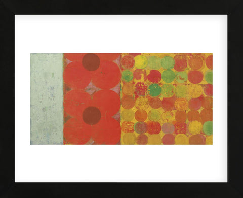 Flowers and Dots #1  (Framed) -  Bill Mead - McGaw Graphics