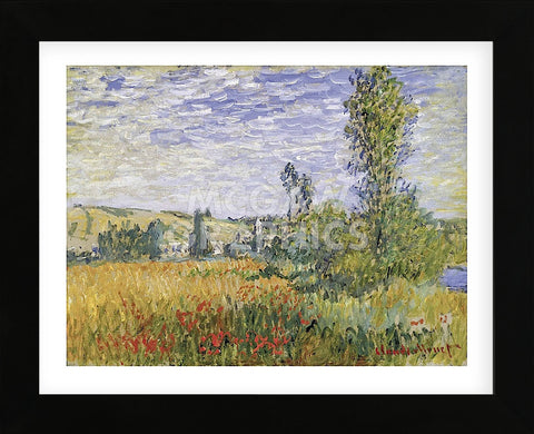 Claude Monet - Landscape at Vetheuil