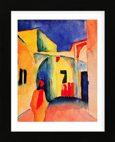 The Casbah (Framed) -  August Macke - McGaw Graphics