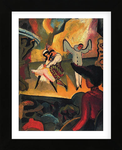 Russian Ballet (Framed) -  August Macke - McGaw Graphics