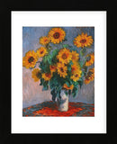 Claude Monet - Vase of Sunflowers