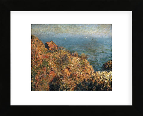 Claude Monet - Fisherman's Lodge at Varengeville