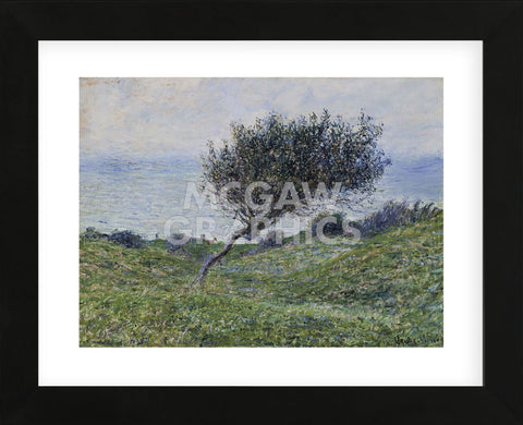 Sea Coast at Trouville  (Framed) -  Claude Monet - McGaw Graphics