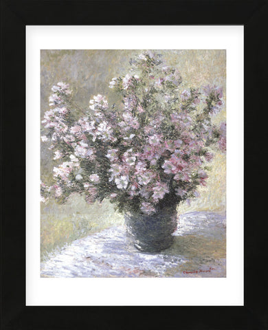 Vase of Flowers  (Framed) -  Claude Monet - McGaw Graphics