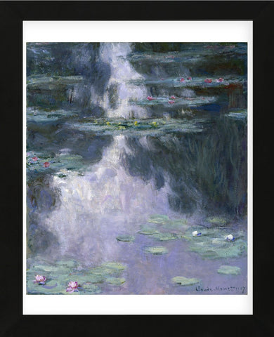 Water Lilies (Nympheas), 1907 (Framed) -  Claude Monet - McGaw Graphics