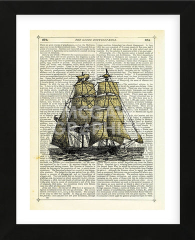 Set Sail (Framed) -  Marion McConaghie - McGaw Graphics