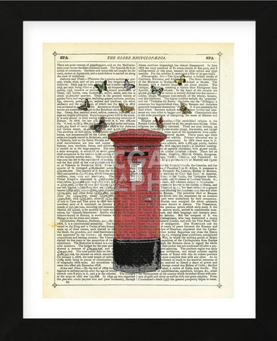 Air Mail (Framed) -  Marion McConaghie - McGaw Graphics