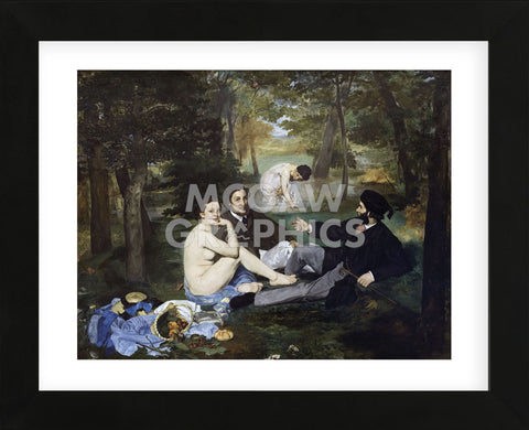 Luncheon on the Grass, 1863 (Framed) -  Edouard Manet - McGaw Graphics