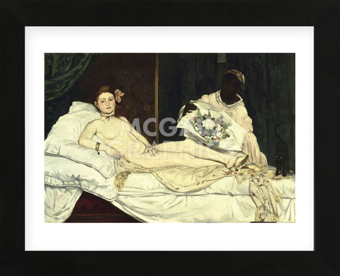 Olympia, 1863 (Framed) -  Edouard Manet - McGaw Graphics