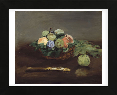 Basket of Fruit, about 1864 (Framed) -  Edouard Manet - McGaw Graphics