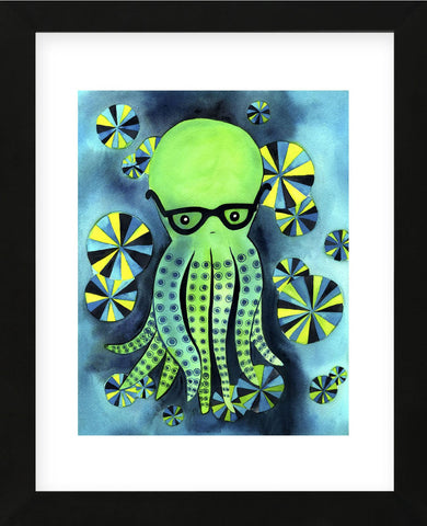 Geeky Octopus (Framed) -  My Zoetrope - McGaw Graphics