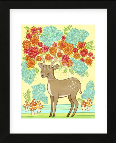Deer Bloom (Framed) -  My Zoetrope - McGaw Graphics