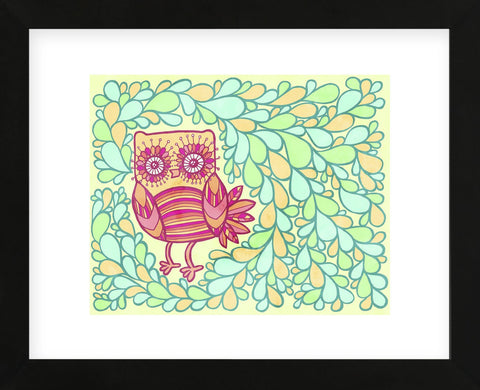 Spring Owl (Framed) -  My Zoetrope - McGaw Graphics