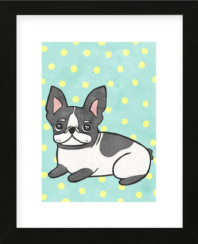 Boston Terrier (Framed) -  My Zoetrope - McGaw Graphics