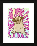 Pug (Framed) -  My Zoetrope - McGaw Graphics
