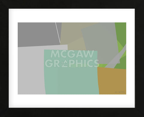 Untitled 180 (Framed) -  William Montgomery - McGaw Graphics