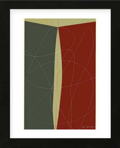 Untitled 263 (Framed) -  William Montgomery - McGaw Graphics