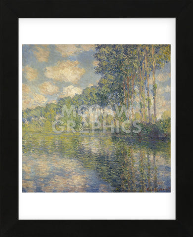 Poplars on the Epte, 1891 (Framed) -  Claude Monet - McGaw Graphics
