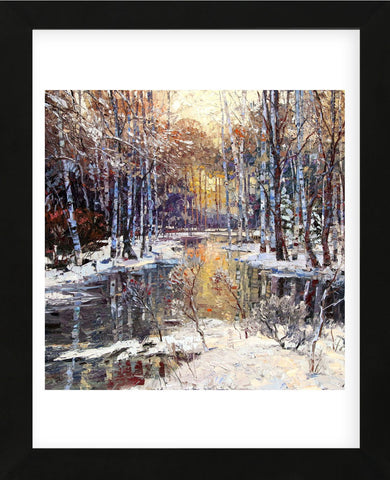 Winter's Peace (Framed) -  Robert Moore - McGaw Graphics