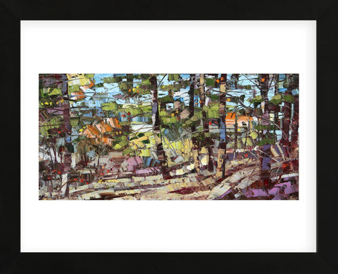 In the Woods (Framed) -  Robert Moore - McGaw Graphics
