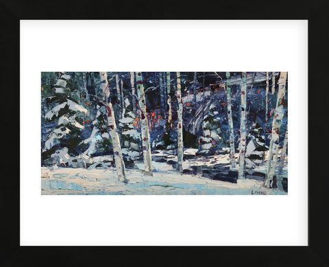 Cool of Winter (Framed) -  Robert Moore - McGaw Graphics