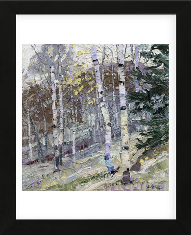 Aspens (Framed) -  Robert Moore - McGaw Graphics