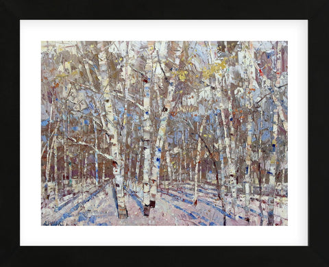 Winter's Light (Framed) -  Robert Moore - McGaw Graphics