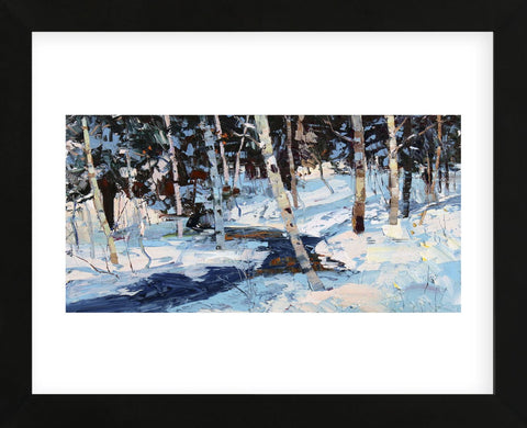Winter Cools (Framed) -  Robert Moore - McGaw Graphics