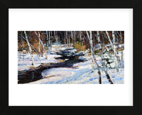 First Thaw (Framed) -  Robert Moore - McGaw Graphics