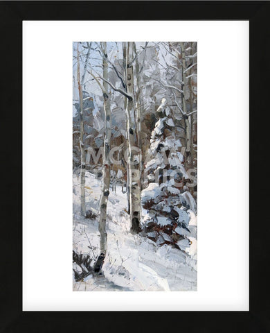 Fresh Snow (Framed) -  Robert Moore - McGaw Graphics