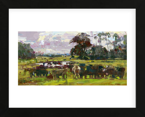 Feed Time (Framed) -  Robert Moore - McGaw Graphics