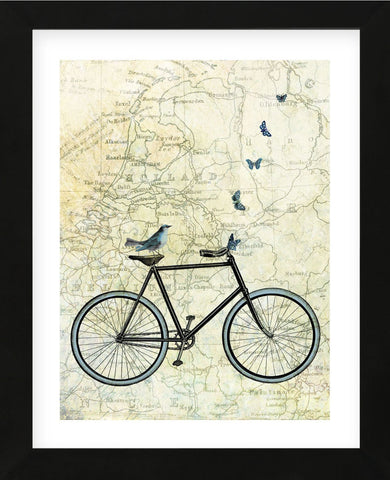 Bike Country (Framed) -  Marion McConaghie - McGaw Graphics