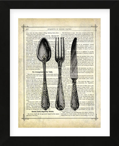 Silverware (Framed) -  Marion McConaghie - McGaw Graphics