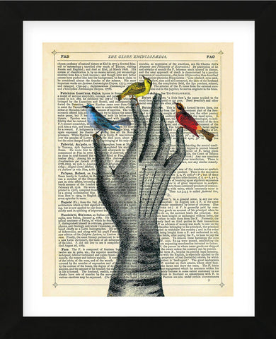 Bird in the Hand (Framed) -  Marion McConaghie - McGaw Graphics