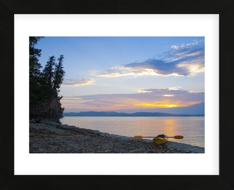 Sunset by the Beach (Framed) -  Orah Moore - McGaw Graphics