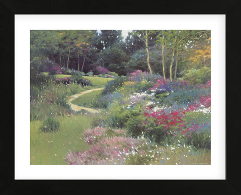 The End of the Garden  (Framed) -  Allan Myndzak - McGaw Graphics