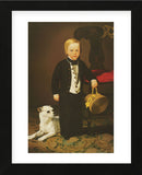 Boy with Dog (Framed) -  Charles Christian Nahl - McGaw Graphics