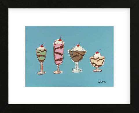 Sundaes (Framed) -  Brian Nash - McGaw Graphics