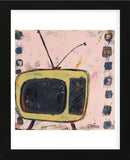 Yellow TV (Framed) -  Brian Nash - McGaw Graphics