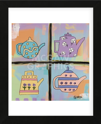 Teapots (Framed) -  Brian Nash - McGaw Graphics